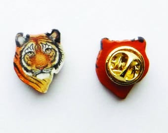 Tiger Tie Tack, Lapel, or Hat Pin