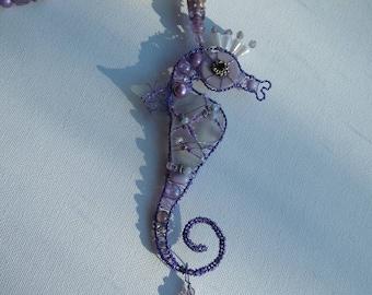 Cornish seaglass suncatcher