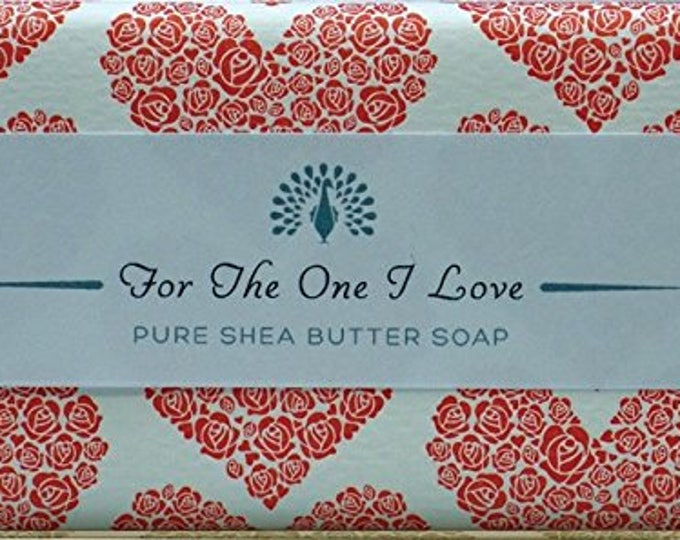 Love  You Shea Butter Pure Indulgence Soaps Bath Soap-200g- Ideal Gift For Mom- Her-Dad- Him -Birthday - or Just For You
