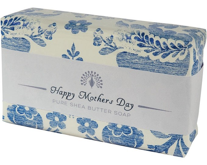 Mother Day Shea Butter Pure Indulgence Soaps Bath Soap-200g- Happy Mother Day -Ideal Gift For Mom- Her- or Just For You
