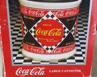 Cocoa Cola Cannister