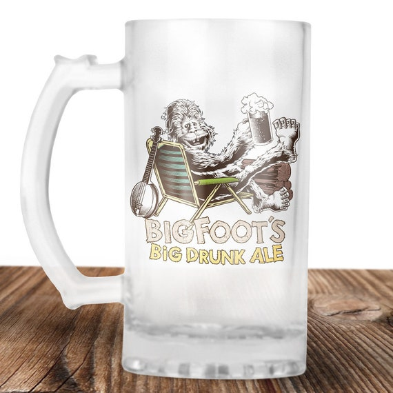 Bigfoot Beer Stein- Bigfoot Believer! -Sasquatch Gift - Bigfoots Ale - Craft Beer Mug -Beer Mug -Beer Lover Gift -Perfect Beer Lover Gift