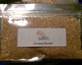 Reishi Tea, 2 pack Wild Harvested, Medicinal Mushroom, Sustainable, Natural, Organic, Healthy, Potent, Pure