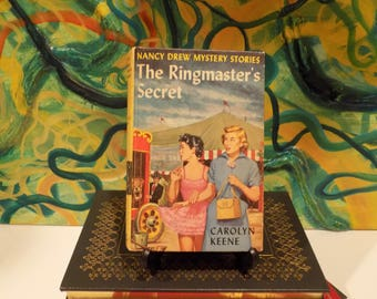 The Ringmaster's Secret; Nancy Drew #31; Written by Carolyn Keene; First Edition, Later Printing