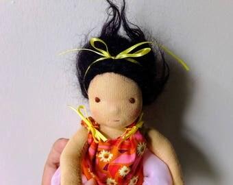 8 Inch Waldorf stye Mermaid Doll