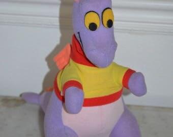 Vintage 1980s Disney's EPCOT Figment Plush Stuffed Animal
