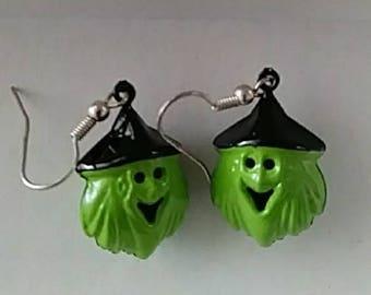 Witch Jingle Bell Earrings