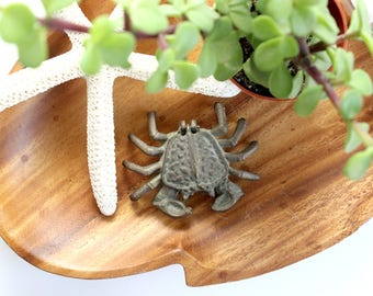 Brass Crab Trinket Holder, Ring Holder