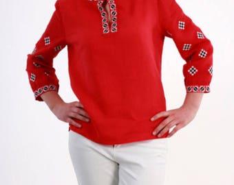ukrainian embroidered boho blouse vyshyvanka bohemian ethnic shirt boho chic