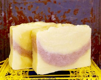 Lemon Vanilla Bean Handmade Vegan Soap