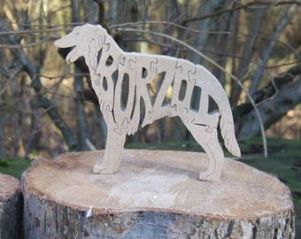 Borzoi,  Borzoi ornament, Borzoi gift, gift for Borzoi lover, Borzoi memorial, unique Borzoi gift, dog gift, dog breed gift, named borzoi