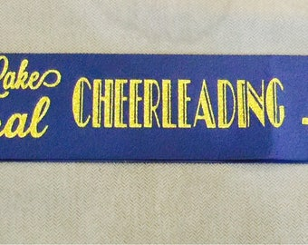One color SASHES for Seniors or Homecoming
