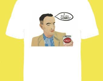 Preorder* Forrest Gump loves Genesee Beer Unisex Tee shirt Tom Hanks