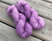 Lilac - Squishy Sock - Superwash Merino & Nylon