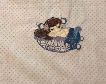 Mermaid Receiving Blanket