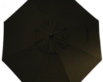 10 Foot Cantilever Off Set Octagon O'Bravia Umbrella - Model# HWUA619 - Free Shipping - CHOCOLATE BROWN