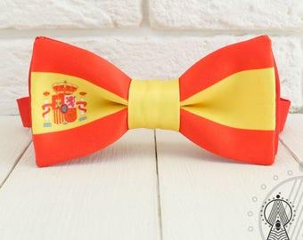 Flag of Spain Bow tie, The Spanish Flag, Bowtie, Spain