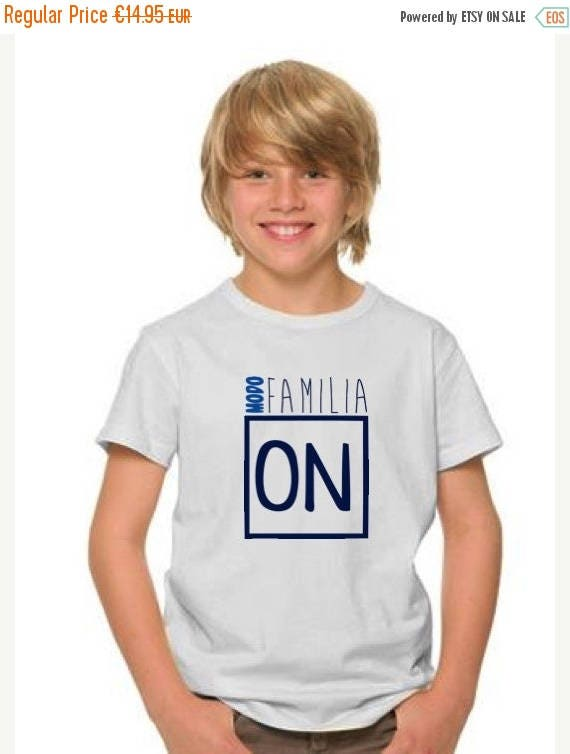 REBAJADO Boy t-shirt MODO FAMILIA On