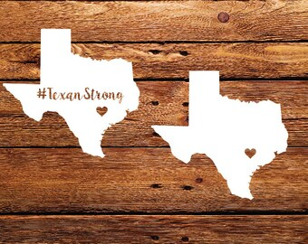 Texan Strong SVG