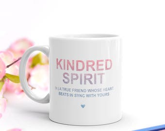 Anne of Green Gables Kindred Spirit Definition Mug   The Sweetest Literary Gift for Lovers of Anne of Green Gables and Anne With An E