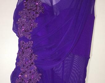 Purple lyrical dance costume, medium lyrical dance costume , small Lyrical dance costume.  Ready to ship lyrical  dance costume,