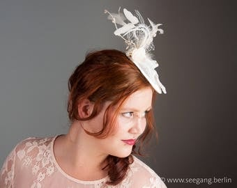 Wedding Fascinator Doves