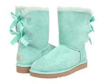 COMING SOON!!!  I found a pair of the Tiffany Blue Ugg boots!!!  Reserve a pair NOW!!!