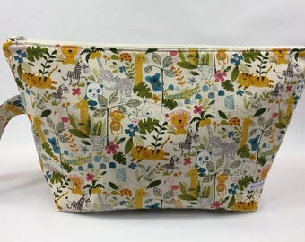 Extra Large Zippered Pouch