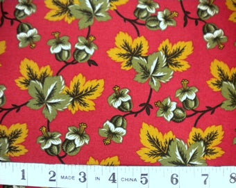 1 YD - Autumn Leaves by RJR Fabrics