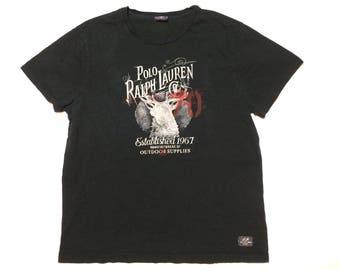 Polo Ralph Lauren outdoors t shirt mens xl 90s