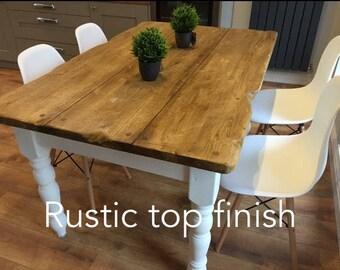 Rustic Handmade Farmhouse Table