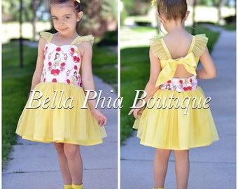 Belle Poppy Dress