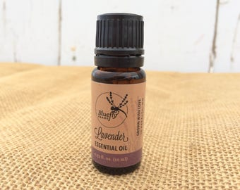 Lavender Essential Oil — 100% Steam Distilled Organic Lavender Oil (10 ml)