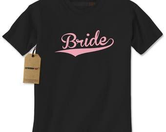 Bride Bachelorette Wedding Bridal Party  Mens T-shirt