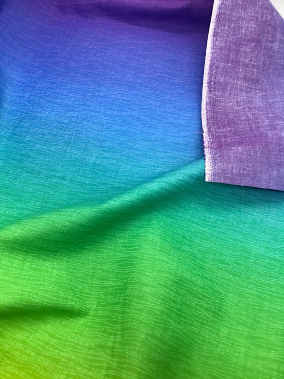 Ombre Rainbow Gelato Fabric From The Elite Collection For