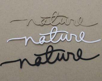 Nature: set of 3 cuts title