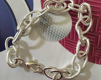 Sterling bracelet suitable for ladies or gents