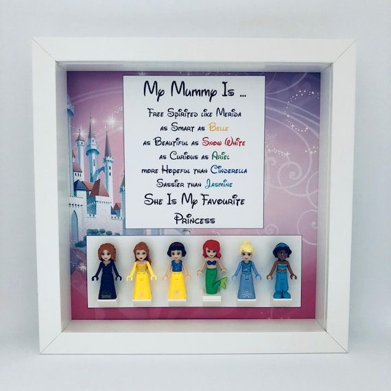 Disney Princess 6PC Mum Minifigure Frame