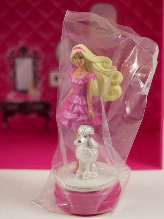 Barbie Cake Topper, Barbie Dream House Party Cake Topper