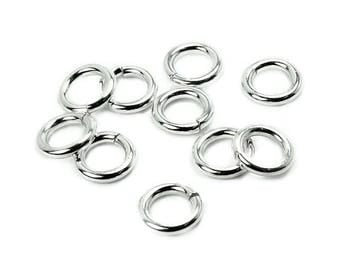 A soldered 6.5x1 AC0120 PK348 mm 925 Silver ring