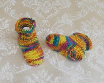 Baby socks, premature babies, cute, colorful