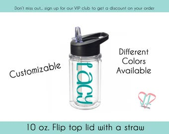 Personalized water bottles for kids - Several colors - Water Bottle