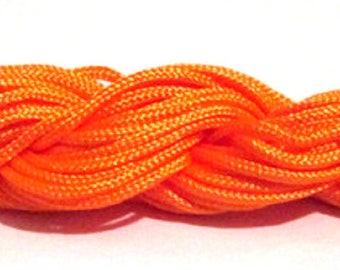 Orange 2 skeins of 12mm mm nylon thread