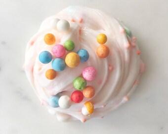 Captain Crunch Berries Cereal Slime - Vanilla Milk Scented