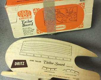 Vintage Dritz Tailor Board Model #520
