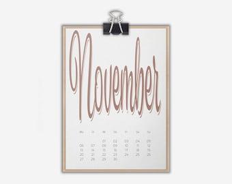 Desk Calendar 'SPUMANTE', colorful // A5