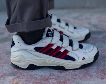 Vintage Adidas Velcro Sneakers