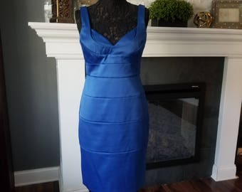 Navy Blue Homecoming/Prom Dress
