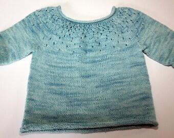 Raindrop pullover sweater