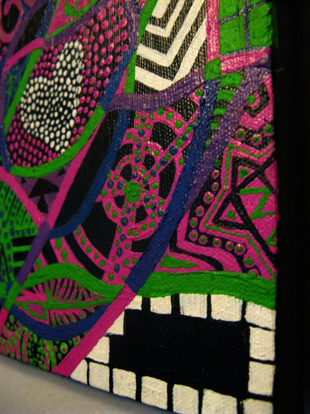 Large Psychedelic Nude detail 5